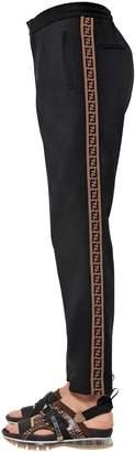 Fendi Ff Bands Wool & Cashmere Sweatpants