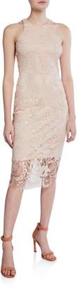 Alexia Admor Kelsey Lace Sleeveless Sheath Dress