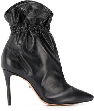 Schutz stiletto heel ankle boots