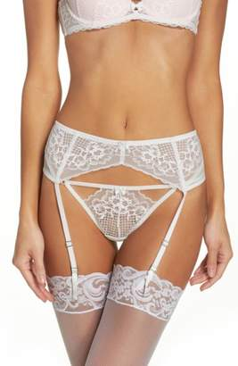 Women's Betsey Johnson Lace Garter Belt