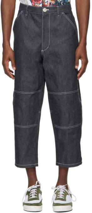 Indigo Plain Jeans