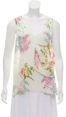 Otis & Maclain Sleeveless Floral Print Top