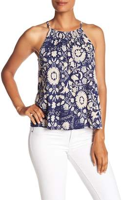 Lucky Brand Smocked Halter Top