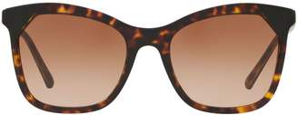 Burberry Heritage 54MM Wayfarer Sunglasses