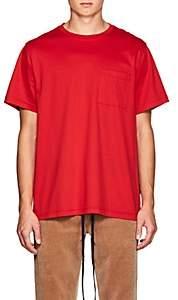 FiveSeventyFive Men's Oversized Cotton T-Shirt - Red