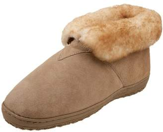 Old Friend Men's Sheepskin Bootee Slipper