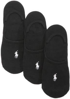 Polo Ralph Lauren Women's 3-Pk. Sneaker Liner Socks