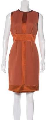 J. Mendel Sleeveless Wool Dress