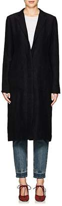 Nomia Women's Crushed Reverse-Satin Duster Coat