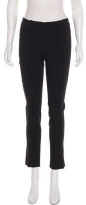 Alberta Ferretti Mid-Rise Skinny Pants