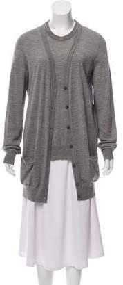 Dolce & Gabbana Button-Up Cardigan Set