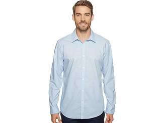 Calvin Klein Slim Fit Long Sleeve Infinite Cool Button Down Check Shirt