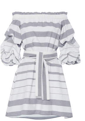 Alexis Olevetti Off Shoulder Dress $395 thestylecure.com