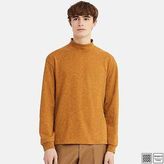 Uniqlo Men's U Oversize Mock Neck Long-sleeve T-Shirt