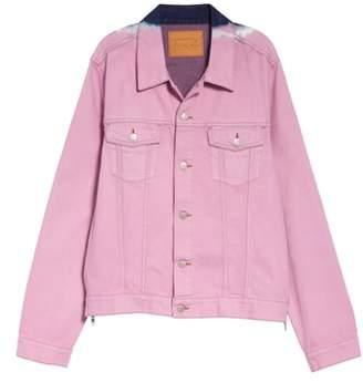 Martine Rose Tie Dye Denim Jacket