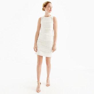 Fringey tweed sheath dress $148 thestylecure.com
