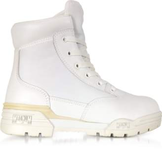 Hi-Tec Magnum 6 Classic Lux White Mesh and Leather Women's Boots