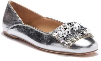 b9a17acbd07af4 Silver Metallic Ballet Flat - ShopStyle