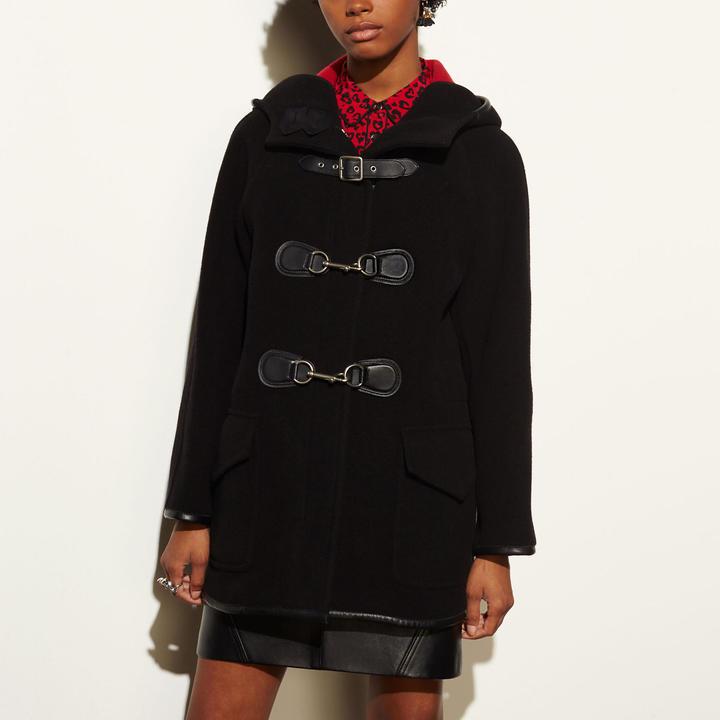 Coach  COACH Coach Dog Clip Duffle Coat