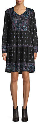 Style&Co. STYLE & CO. Paisley Peasant Dress