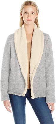 Threads 4 Thought Women's Belinda Sherpa Lined Cardigan