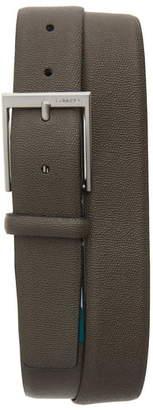 Calvin Klein Pebbled Faux Leather Belt