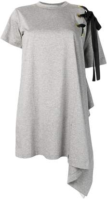 Sacai asymmetric T-shirt dress