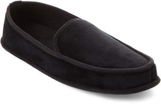 Dearfoams Velour Moccasin Slippers