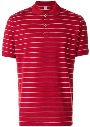 Eleventy striped polo shirt