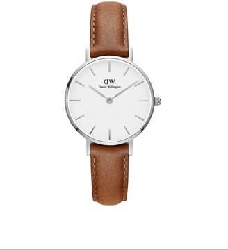 Daniel Wellington Women's DW00100240 Classic Petite Durham in White 28mm Watch