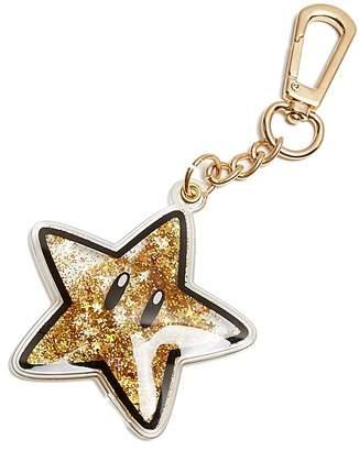 Skinny-dip London Liquid Glitter Star Keychain - 100% Exclusive