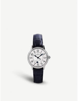 Jaeger-LeCoultre Q3468421 Rendez-vous stainless steel and alligator leather watch