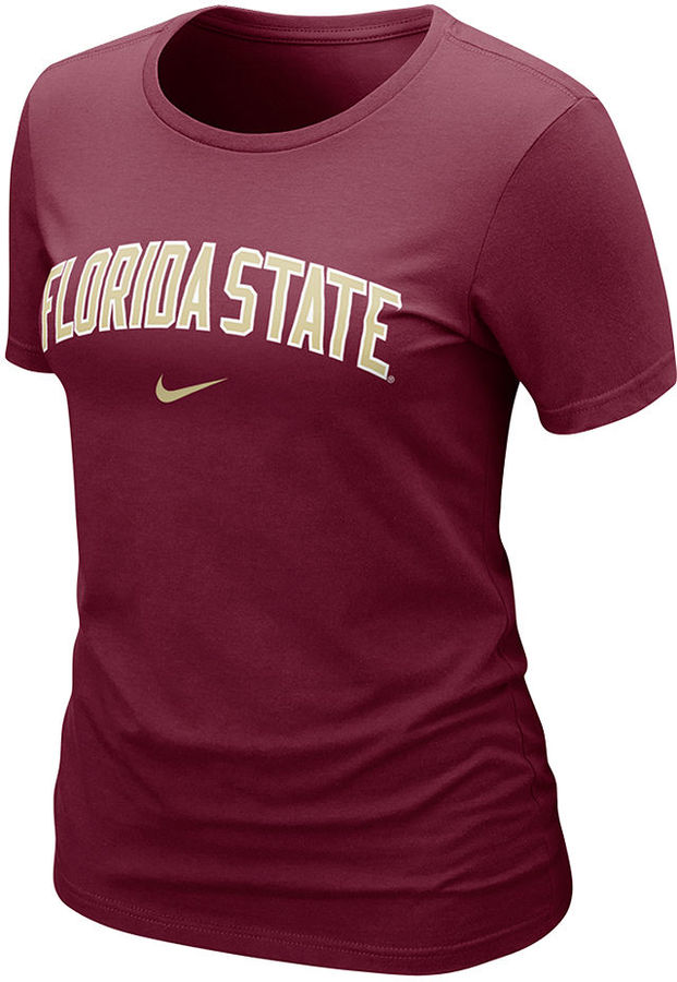 Nike Women's NCAA T-Shirt, Florida State Seminoles Arch Graphic Tee