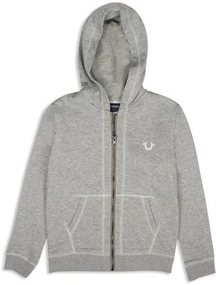 True Religion Boys' French Terry Logo Hoodie - Sizes S-XL $79 thestylecure.com