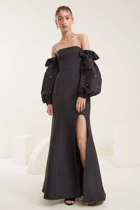 C/Meo COLLECTIVE ASSEMBLE GOWN black