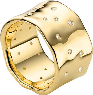 Monica Vinader Siren Scatter 18ct-gold plated ring