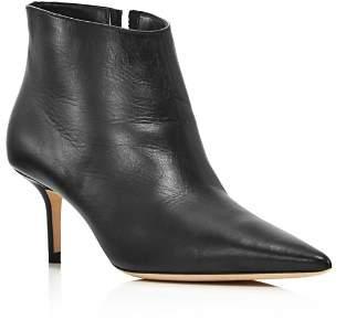 Jimmy Choo Women's Marinda 65 Mid-Heel Leather Booties