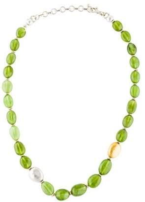 Gurhan Peridot Galapagos Necklace