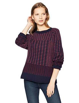 Pendleton Women's Plaid Lambs Wool Pullover Sweater