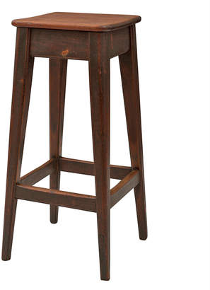 Rejuvenation Tall Oak Mission-Style Stool
