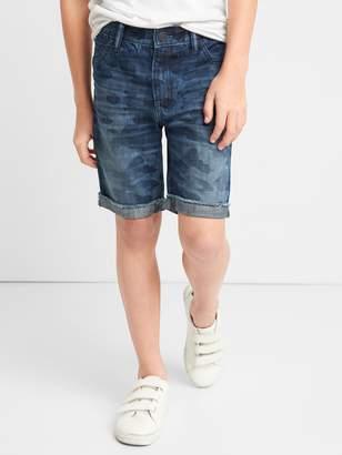 Gap for Good Camo Denim Shorts