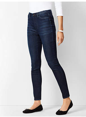 Talbots Sculpt Pull-On Denim Jeggings - Empire Wash