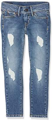 Pepe Jeans Girl's Pixlette Jeans,(Manufacturer Size: 12)