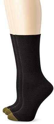 Gold Toe Women's Ultra Soft Providence Turn Cuff Sock 3Pack
