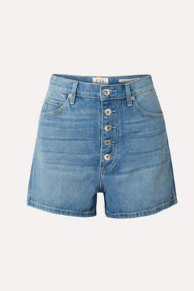 Eve Denim Leo Denim Shorts - Light blue