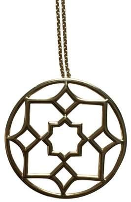 Tiffany & Co. Paloma Picasso 18K Yellow Gold Zellige Medallion Necklace