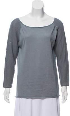 Fabiana Filippi Sequin Knit Top w/ Tags