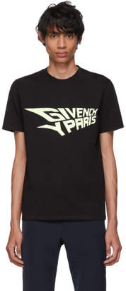 Givenchy Black Glow-In-The-Dark Slim-Fit T-Shirt