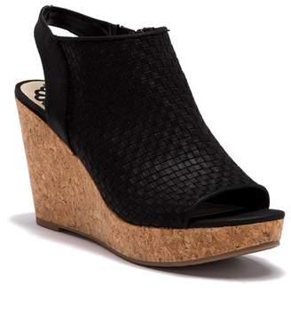 Fergalicious Rasta Wedge Sandal