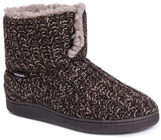 Muk Luks Women's Sean Slippers-Brown